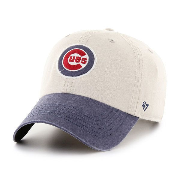 Chicago Cubs Adjustable Bullseye Rivington Clean Up Cap by  47 ... be7109a4f351