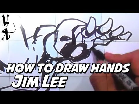 Jim Lee How To Draw Hands Youtube Painting Drawing In