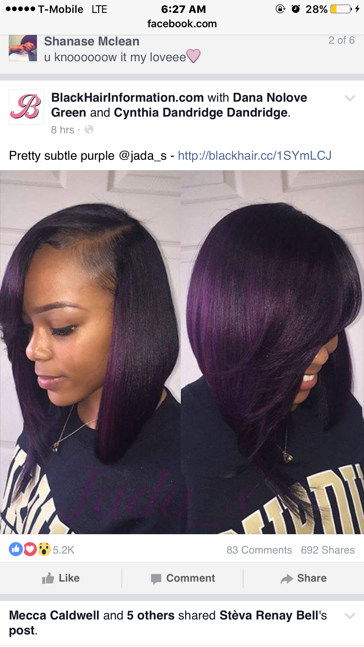 Pin by on hairstyles Hair, Purple ombre hair