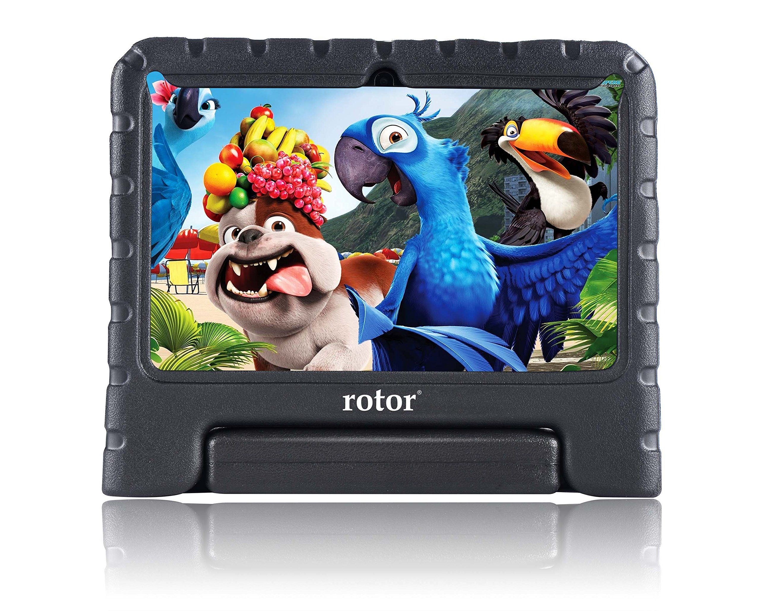 "rotor® 7"" HD 8GB Quad Core Android Kids Tablet"
