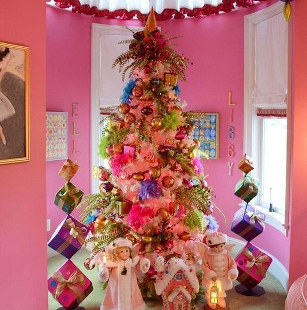 Marvelous Whimsical Christmas Trees Ideas 34 christmas #decor #marvelous #whimsical #christmas #trees #ideas #34