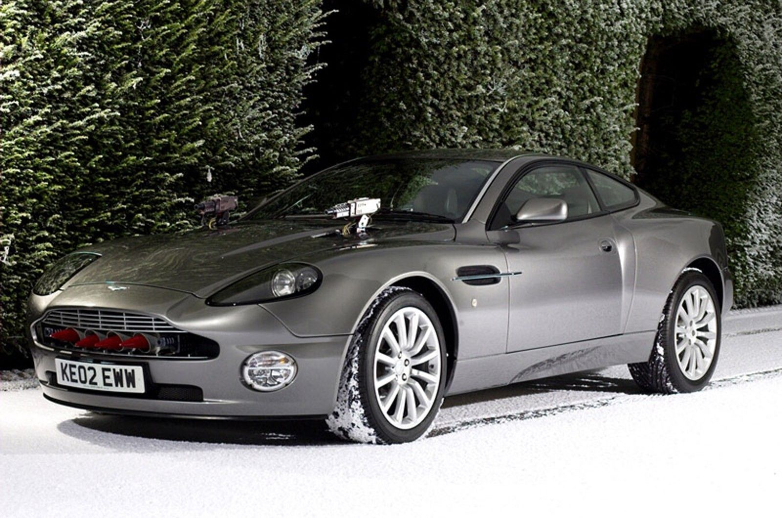 The Aston Martin V12 Vanquish, Featured In Skyfall