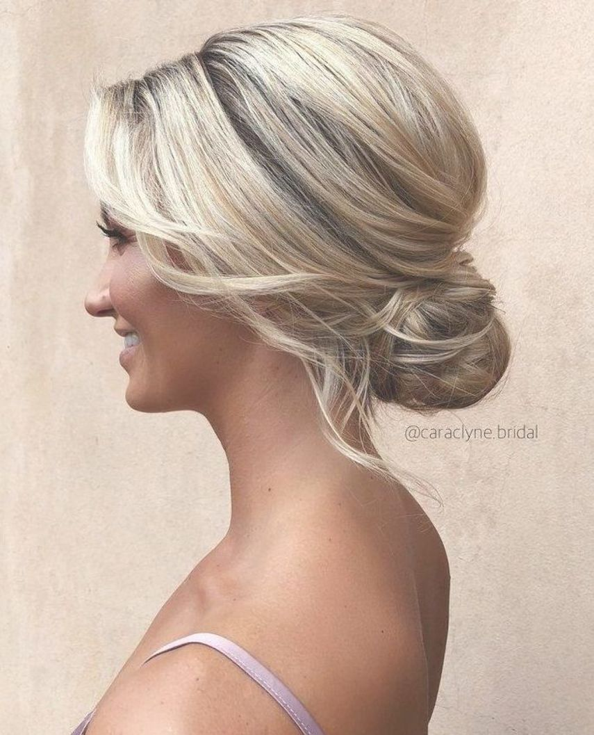 Beautiful updos for a romantic bride – Beautiful messy braids and updos – Hair a…