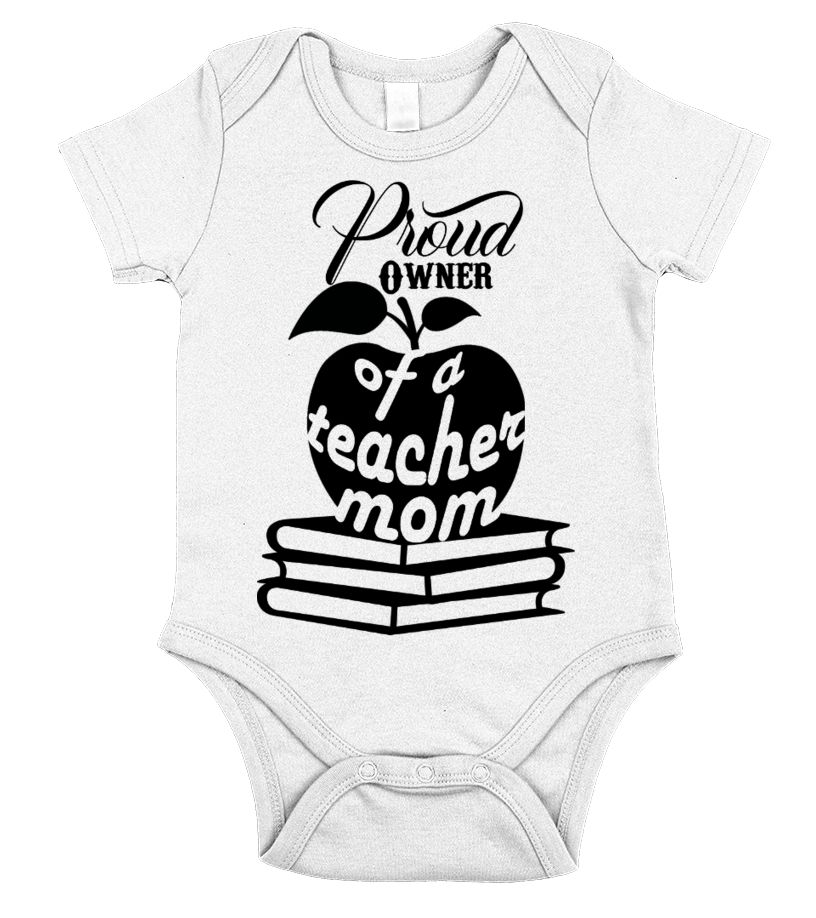 Proud Owner Of A Teacher Mom Gift Idea Shirt Image Brother