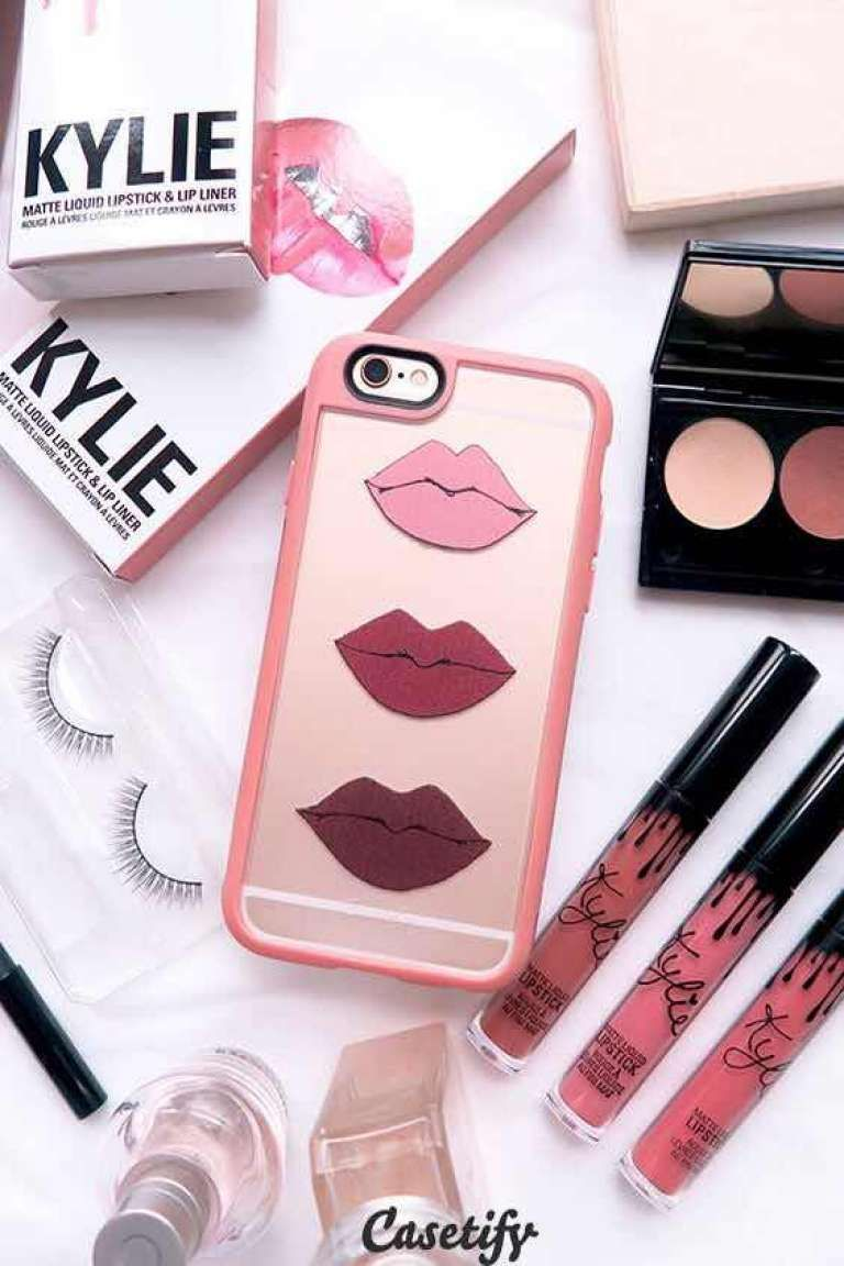 28 Hermosos Forros para Celulares de Maquillaje | Girly phone cases, Phone  case accessories, Girly iphone case