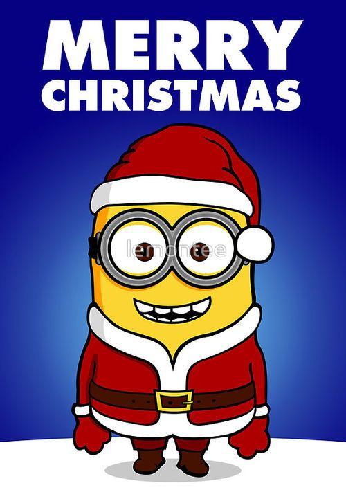 minion christmas minions pinterest weihnachten. Black Bedroom Furniture Sets. Home Design Ideas