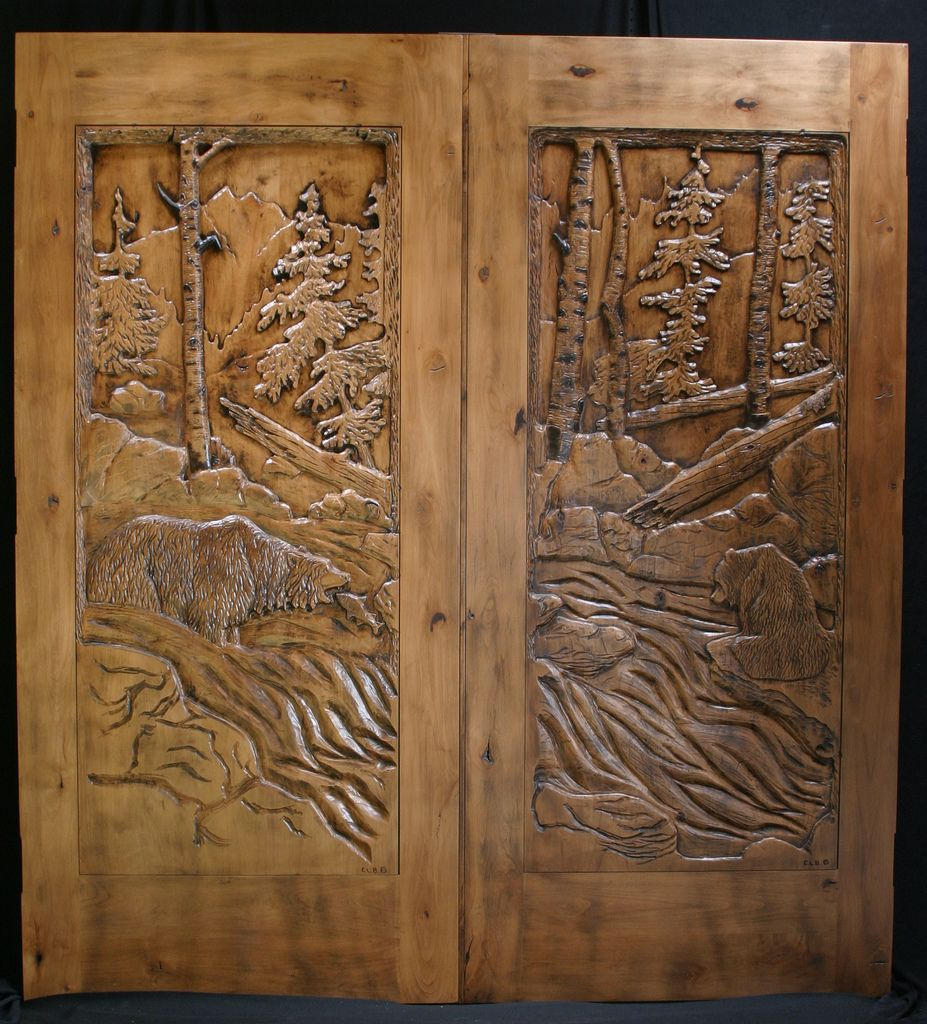 hand carved wood door ah ap oyma pinterest wood