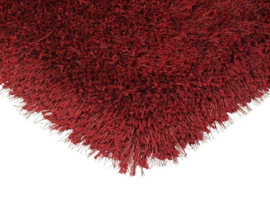 Teppich Wohnzimmer Carpet Hochflor Design Cascade Shaggy Rug 100 Polyester 160x230 Cm Rechteckig Rot Teppiche Gün Teppich Günstig Teppich Wohnzimmer Teppich