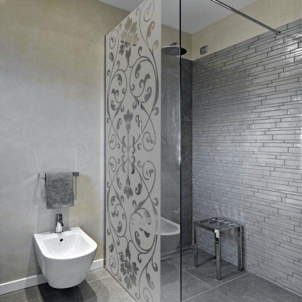 tr s tendance ce sticker d poli pour paroi de douche tout. Black Bedroom Furniture Sets. Home Design Ideas