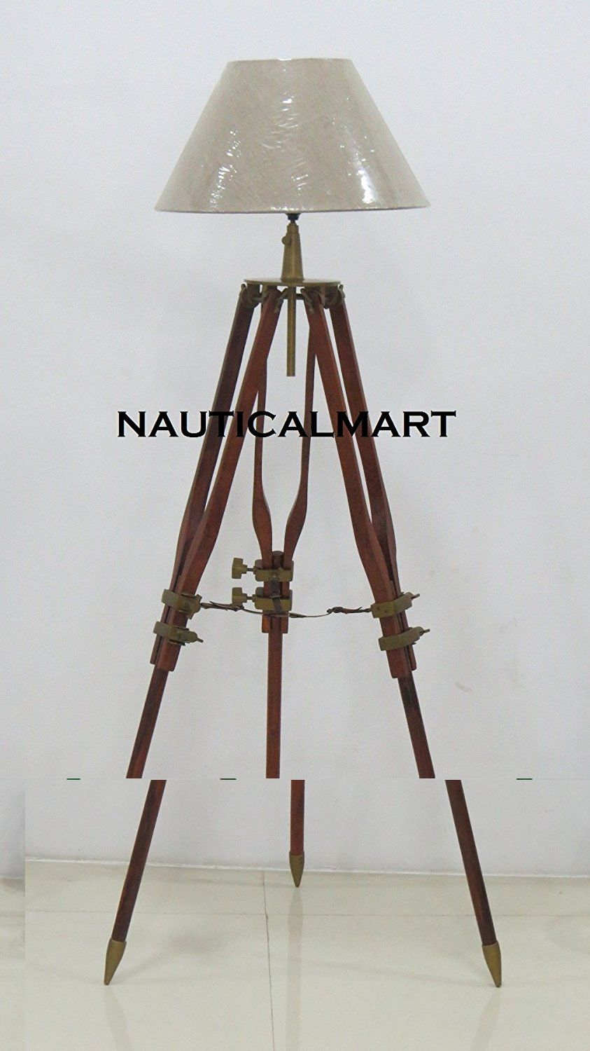 Vintage royal marine tripod floor lamp christmas gift by vintage royal marine tripod floor lamp christmas gift by nauticalmart amazon aloadofball Gallery