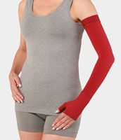Juzo Soft 2000 15-20mmhg Max Armsleeve with Silicone Top Band for Women