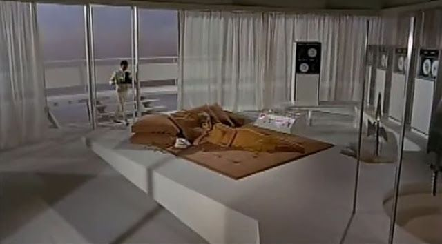 Modesty Blaise (1966) - set from the film