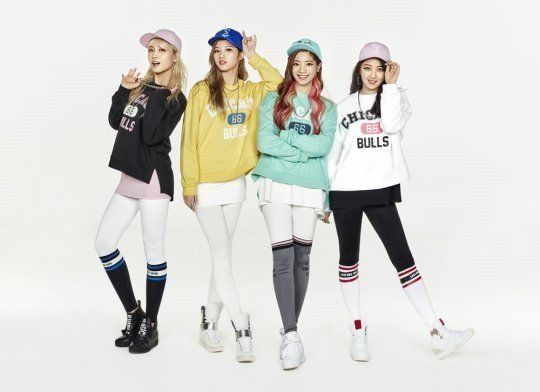 Jype S Hottest Idols Pose In Sporty Hip Hop Fashion For Nba Clothing Nba Clothing Nba Fashion Clothing Brand