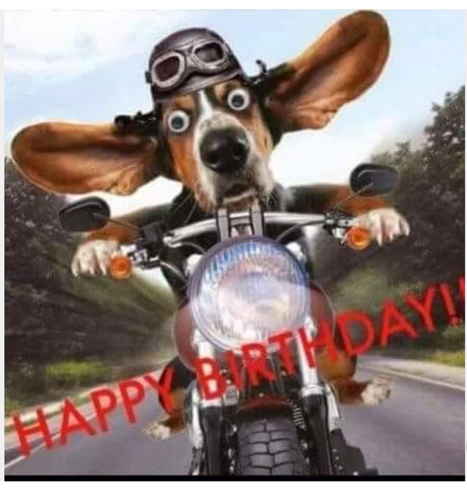 Happy Birthday Motorcycle Image By Nancy Hall On Special