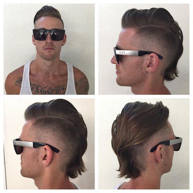 Instagram Photo By Kyle Corbin Jul 31 2015 At 9 11pm Utc Mohawk For Men Mohawk Hairstyles Men Haircuts For Men