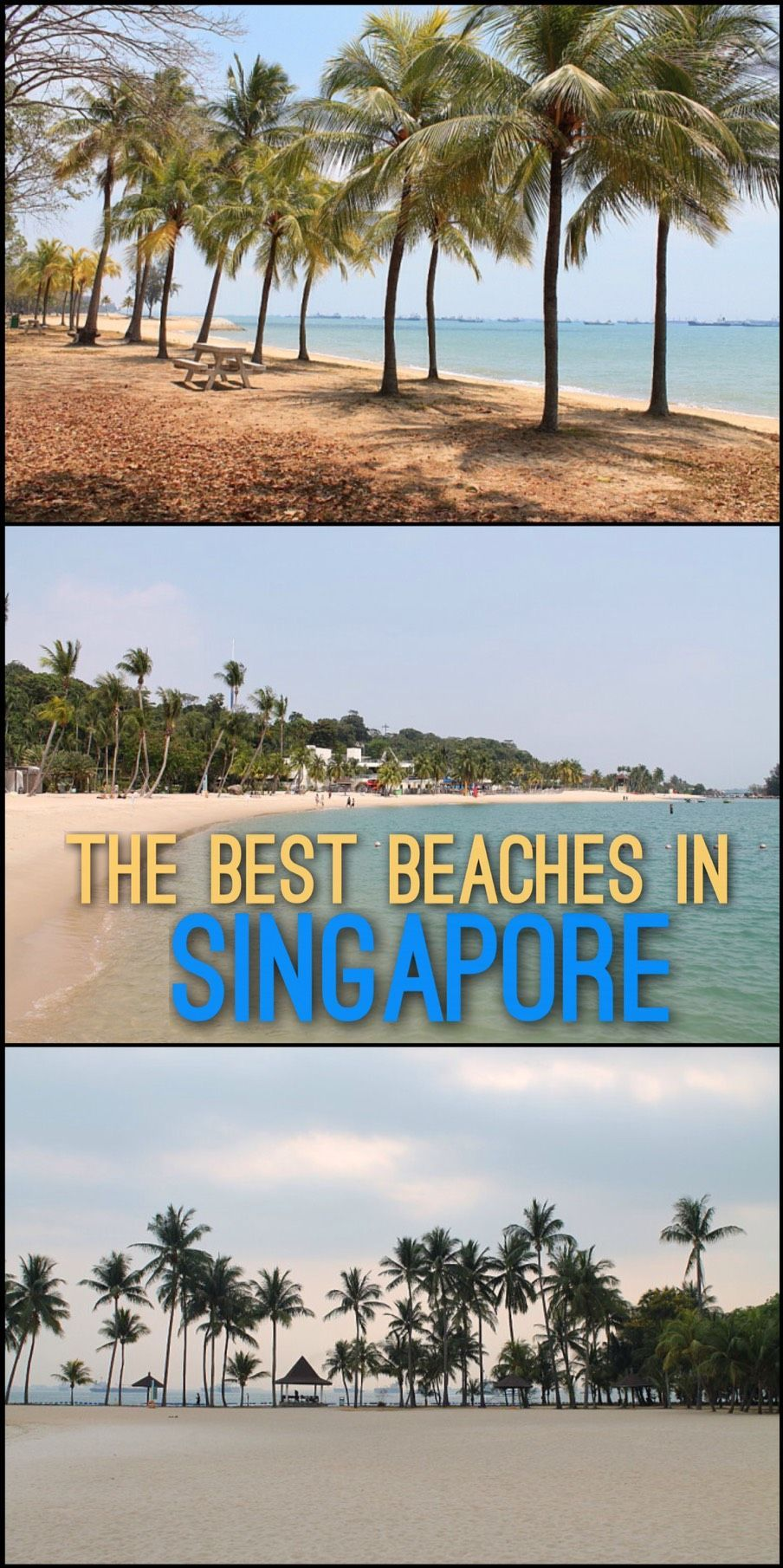 The Best Beaches In Singapore Beach Travel Singapore Travel Singapore East Coast Beaches