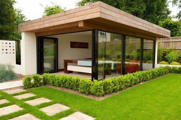 modern landscape ideas contemporary garden room design