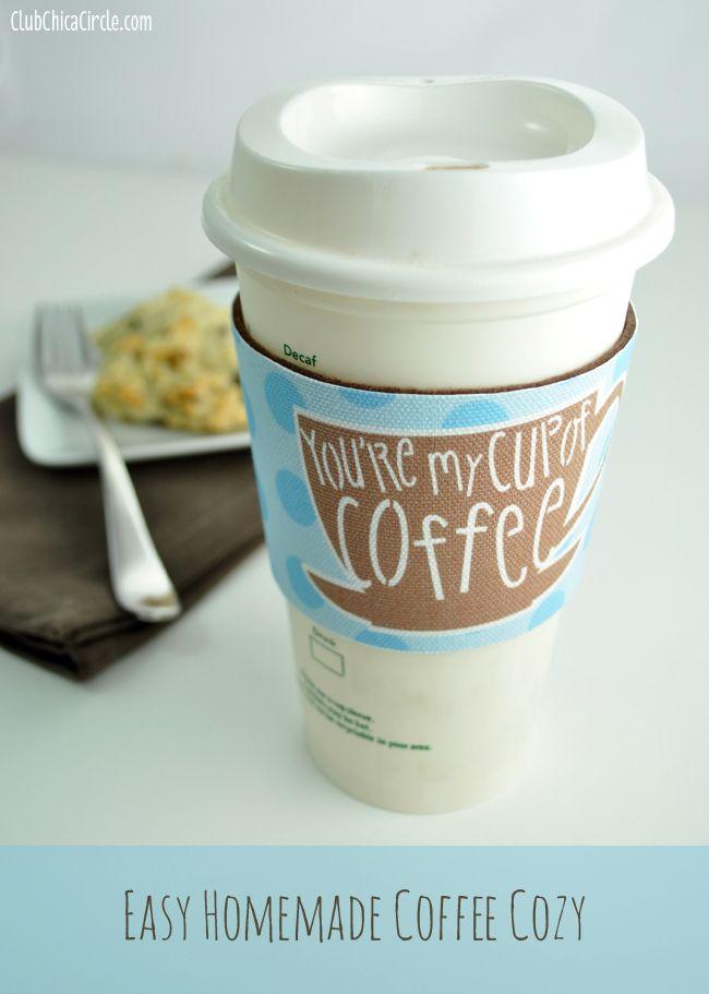 Coffee Cozy Sleeve Gift Idea