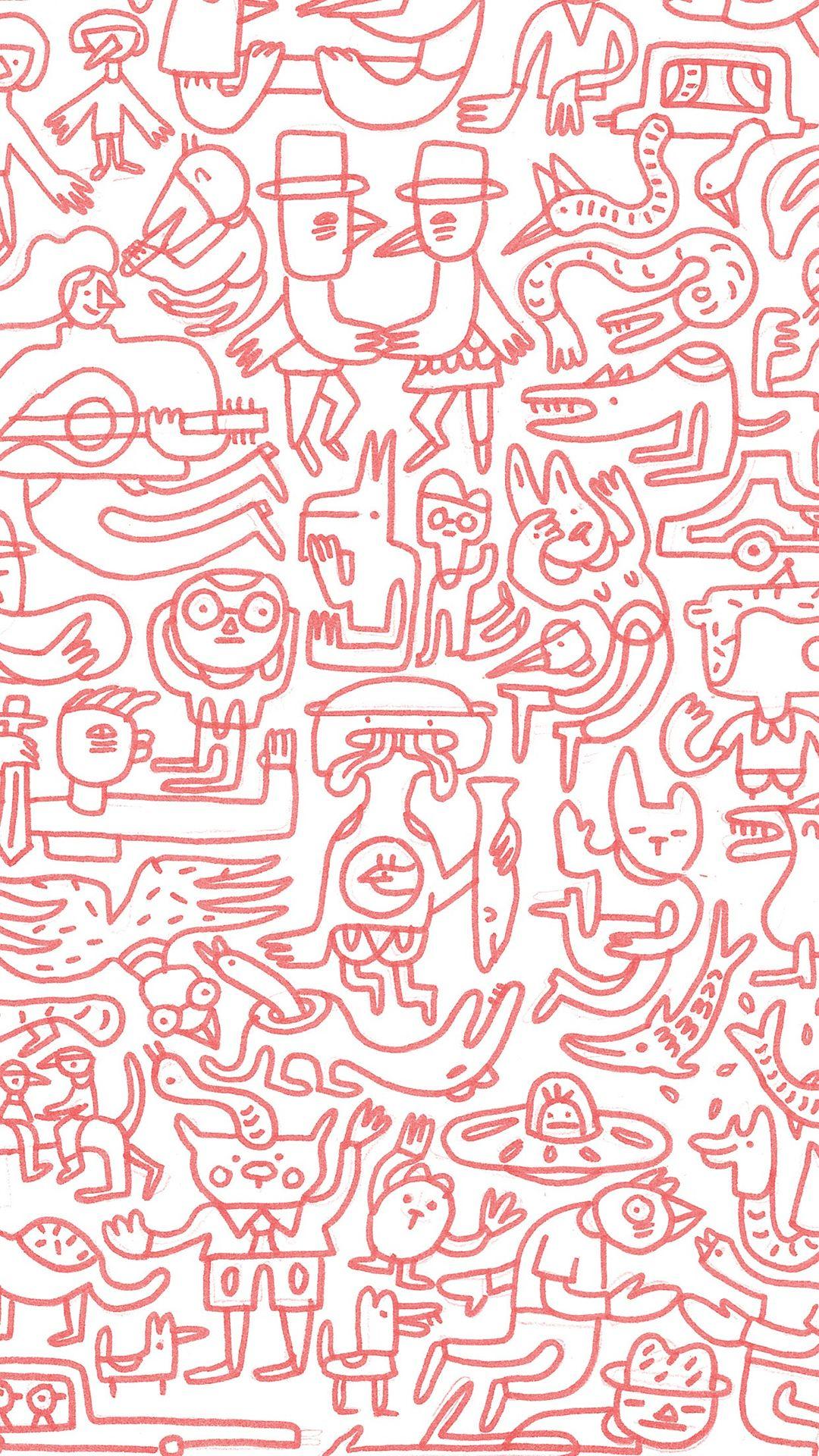 judy kaufmann red mural iphone 6 plus wallpaper iphone 6~8judy kaufmann red mural iphone 6 plus wallpaper