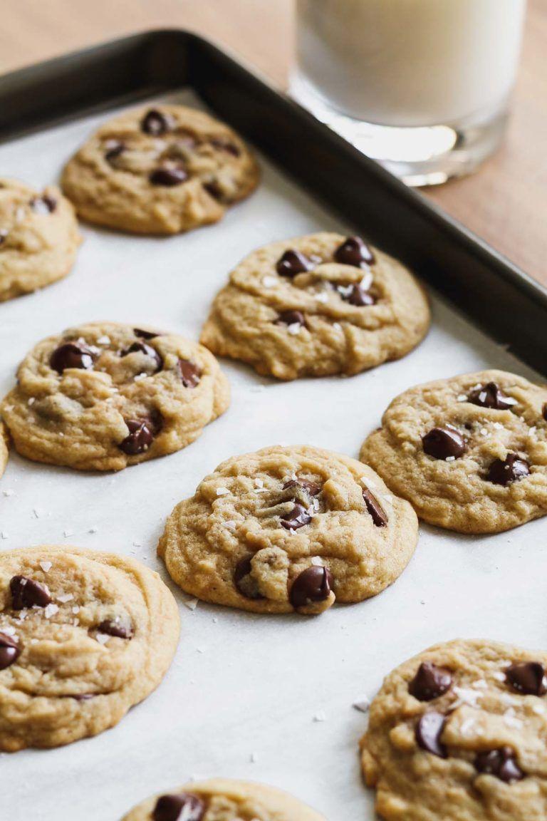 The Easiest Chocolate Chip Cookies - Katiebird Bakes