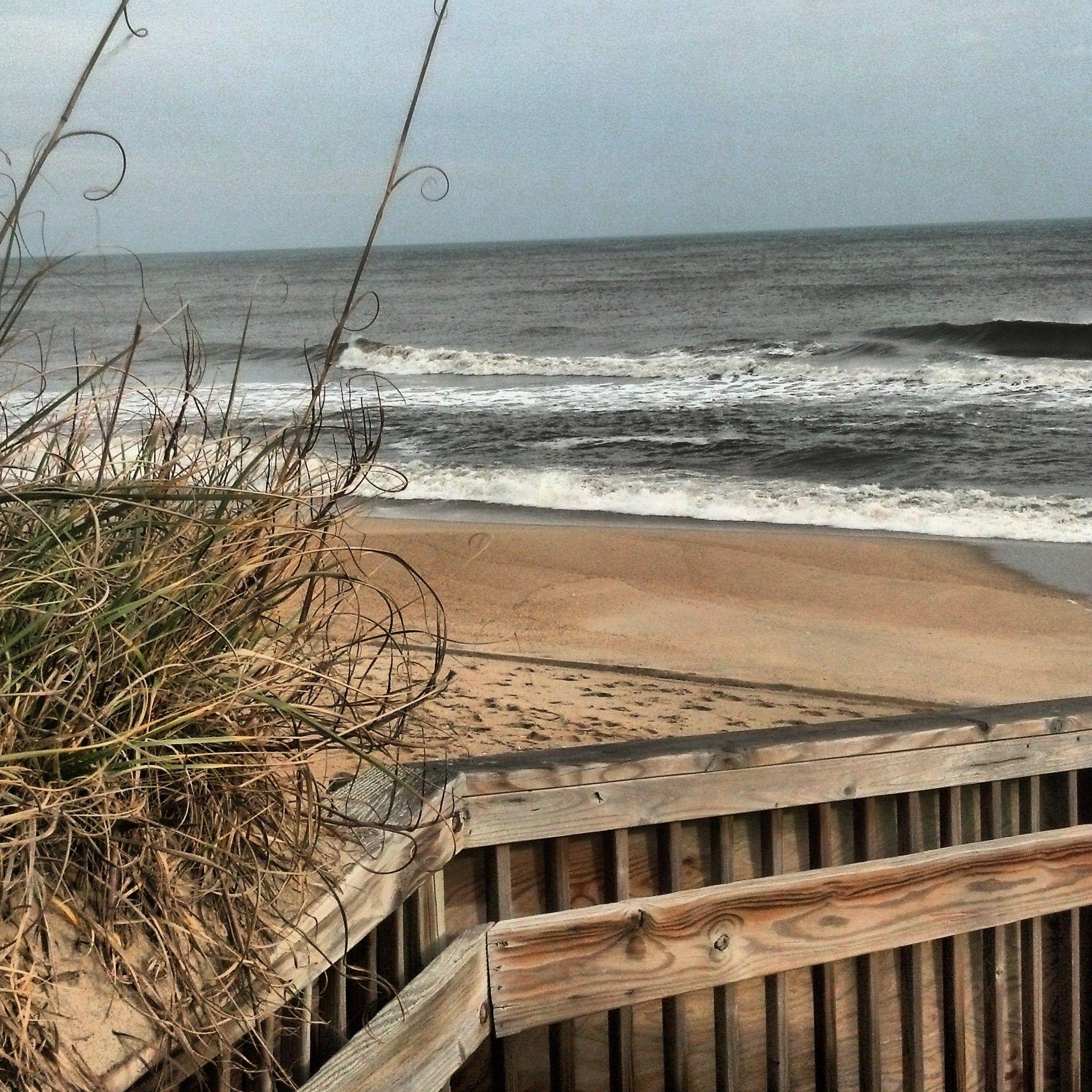 Outer Banks Beach Report 1 6 14 Big Temperature Drop Tomorrow Outer Banks Beach North Carolina Beaches Outer Banks Nc Rentals