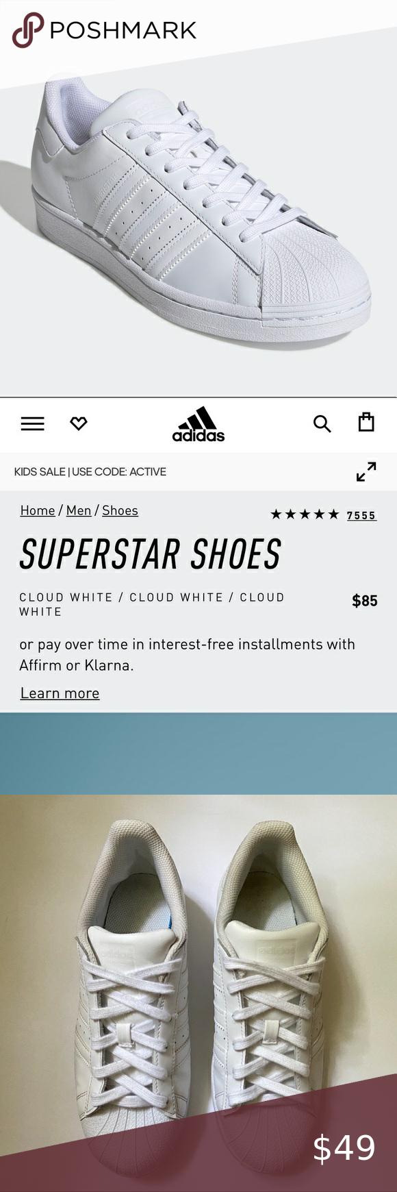 ⬇️ $85 Adidas superstar in 2020