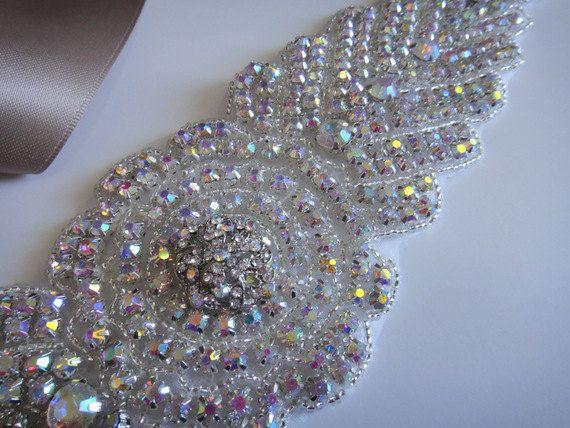 Bridal Sash Vintage Bridal Sash Bridal Belt by JaimeBridalCouture