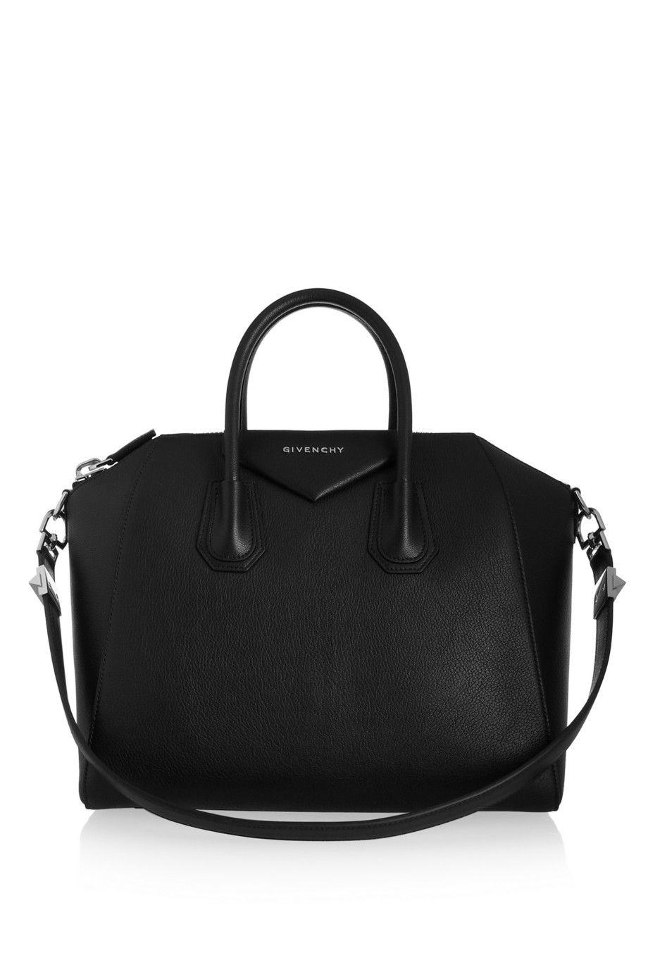 givenchy medium antigona bag in black leather givenchy. Black Bedroom Furniture Sets. Home Design Ideas