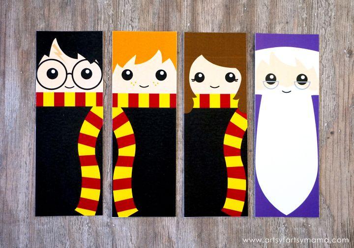 Marcadores Do Harry Potter Gratis Para Impressao Pintura De