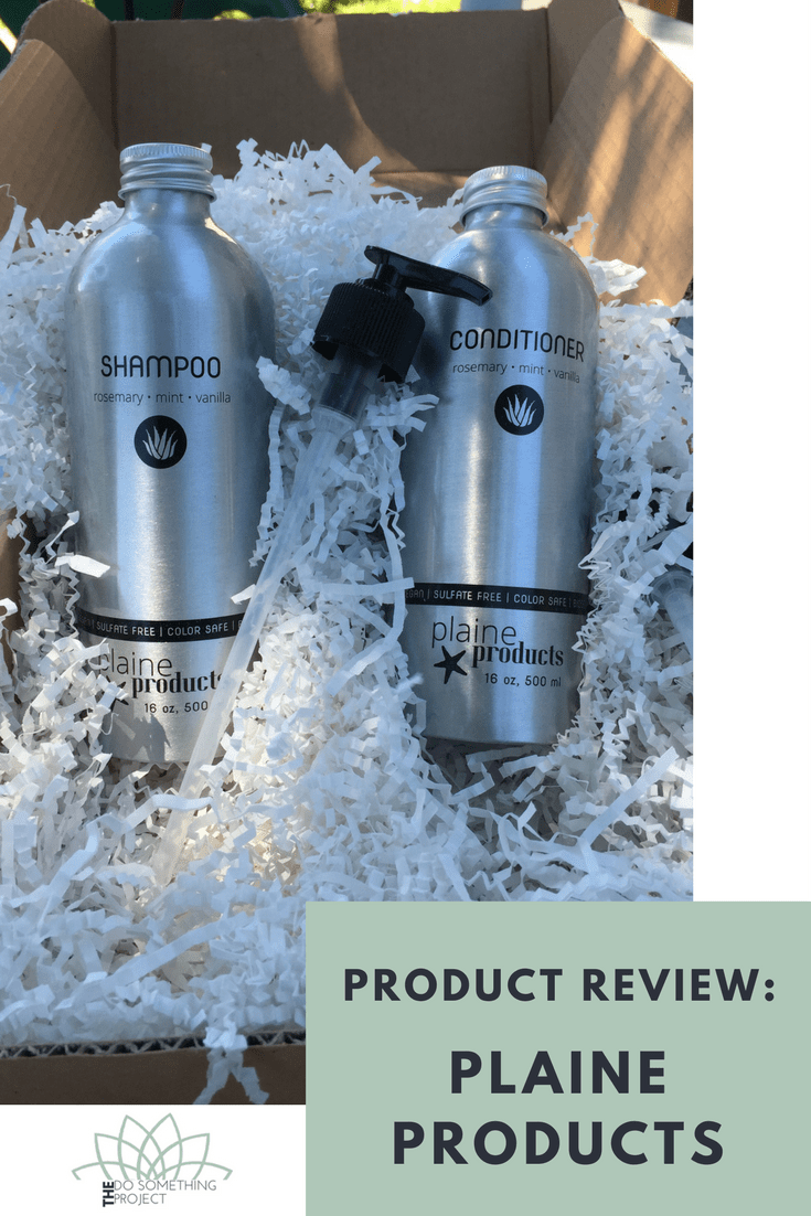 Product Review Plaine Products Natural Shampoo and