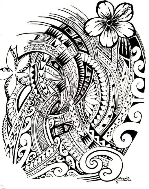 Hawaiian Tribal Tattoo Designs And Meanings
