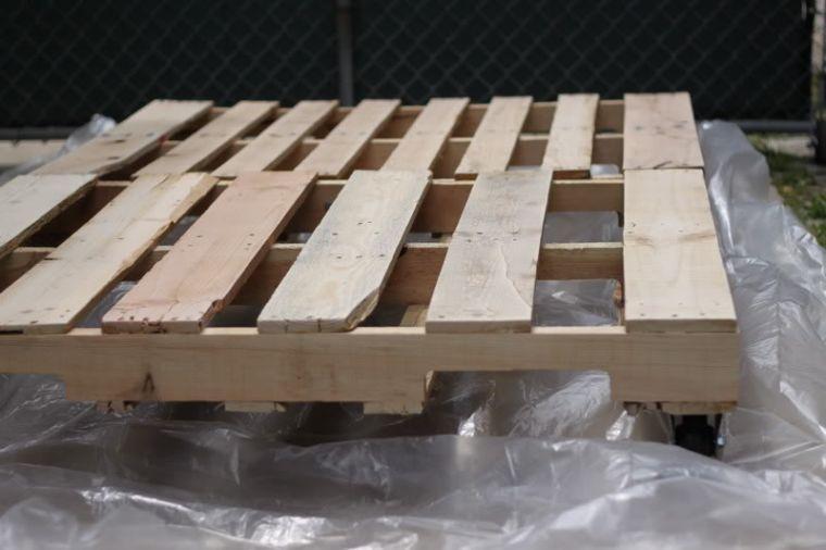 Fabriquer salon de jardin en palette de bois - tuto canapé ...