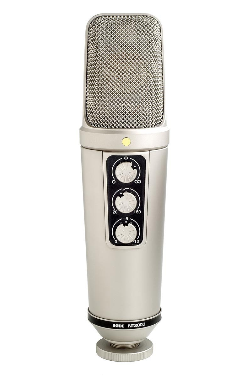Rode Nt2000 Variable Pattern Studio Condenser Microphone Microphone Condensation Variables