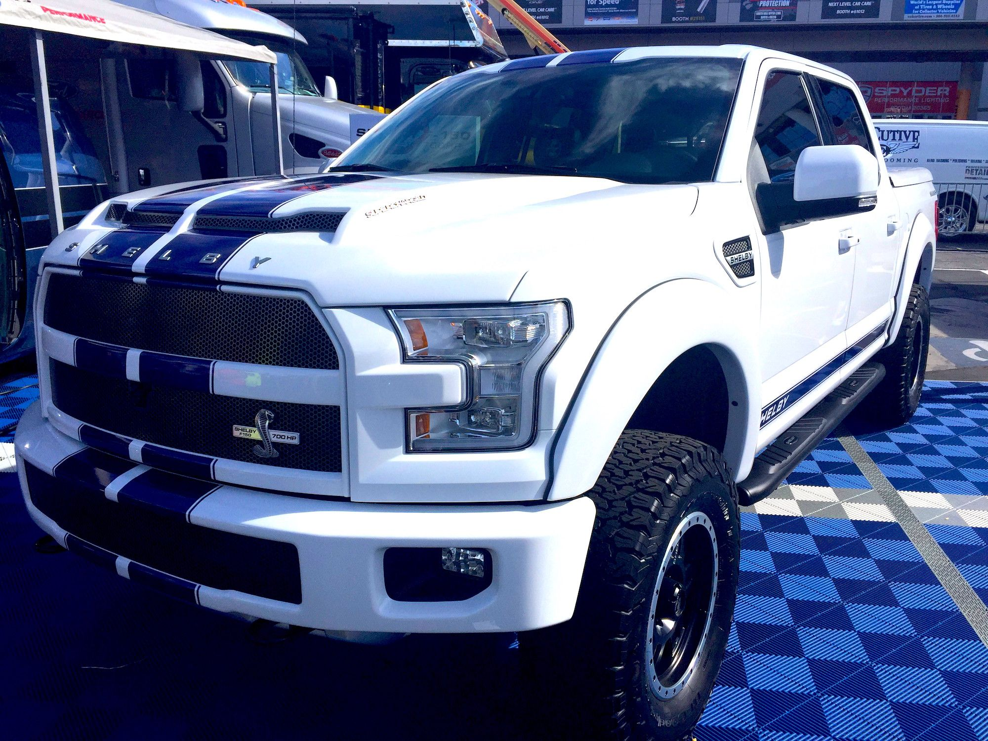 Shelby Unveils Its 700 Hp F 150 Equal Parts Off Roader And Race Truck Photos Ford Trucks Shelby Truck Ford Pickup Trucks