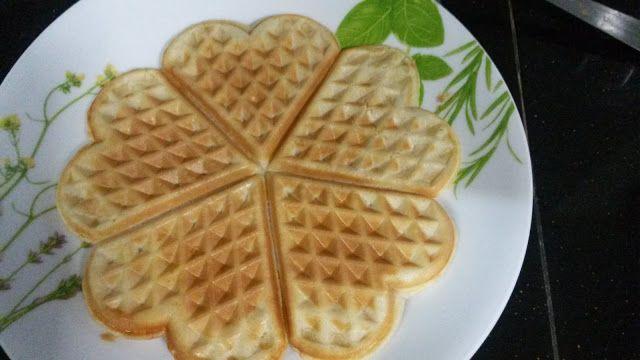 Resepi Waffle Sedap Ranggup Dan Simple Waffles Food Simple