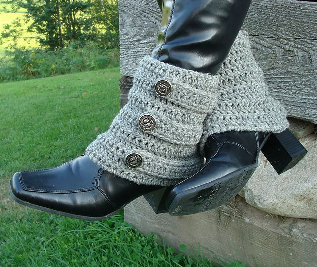 Brunswick Bootwarmers or Spats pattern by Bella McBride | Ravelry ...