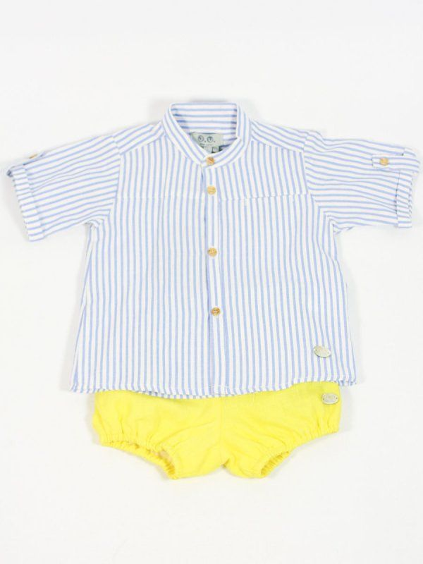 1b6729457 camisa vestir rayas bebe niño jose varon