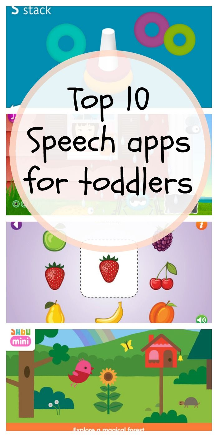 Top 10 Speech And Language Apps For Toddlers Toddler Speech