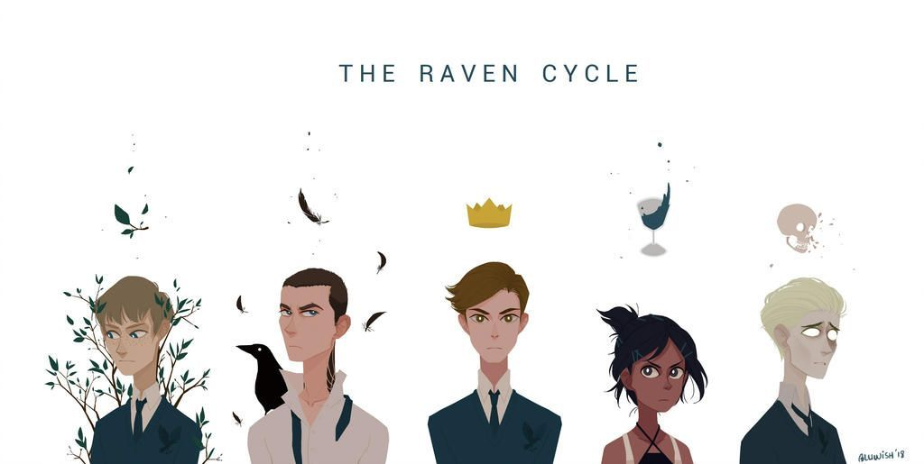 The Raven Cycle (wallpaper) by BLuwish on DeviantArt  -  #BLuwish #Cycle #DeviantArt #Raven #theravencycle #Wallpaper