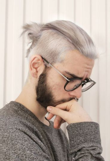 Awesome How To Lucky Blue Smith And Zayn Malik Gray Hair Dye Gray Blue Hairstyle Inspiration Daily Dogsangcom