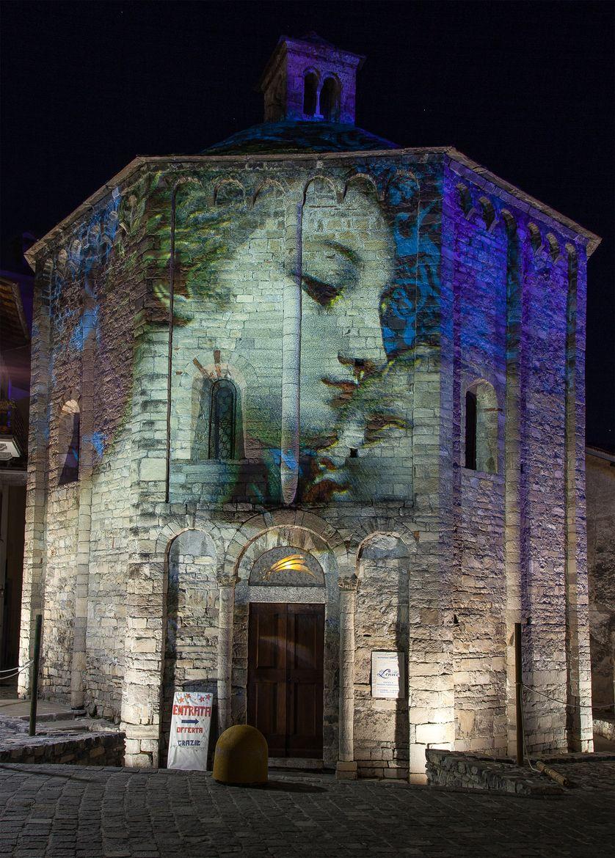 Photograph Lenno - The Baptistery by Roberto Roberti on 500px   Murals  street art, Amazing street art, 3d street art