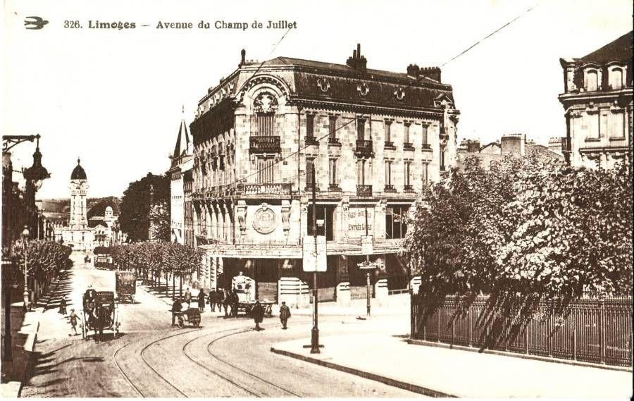 52 Avenue Champ De Juillet Jpg Limousin Monuments Photographie