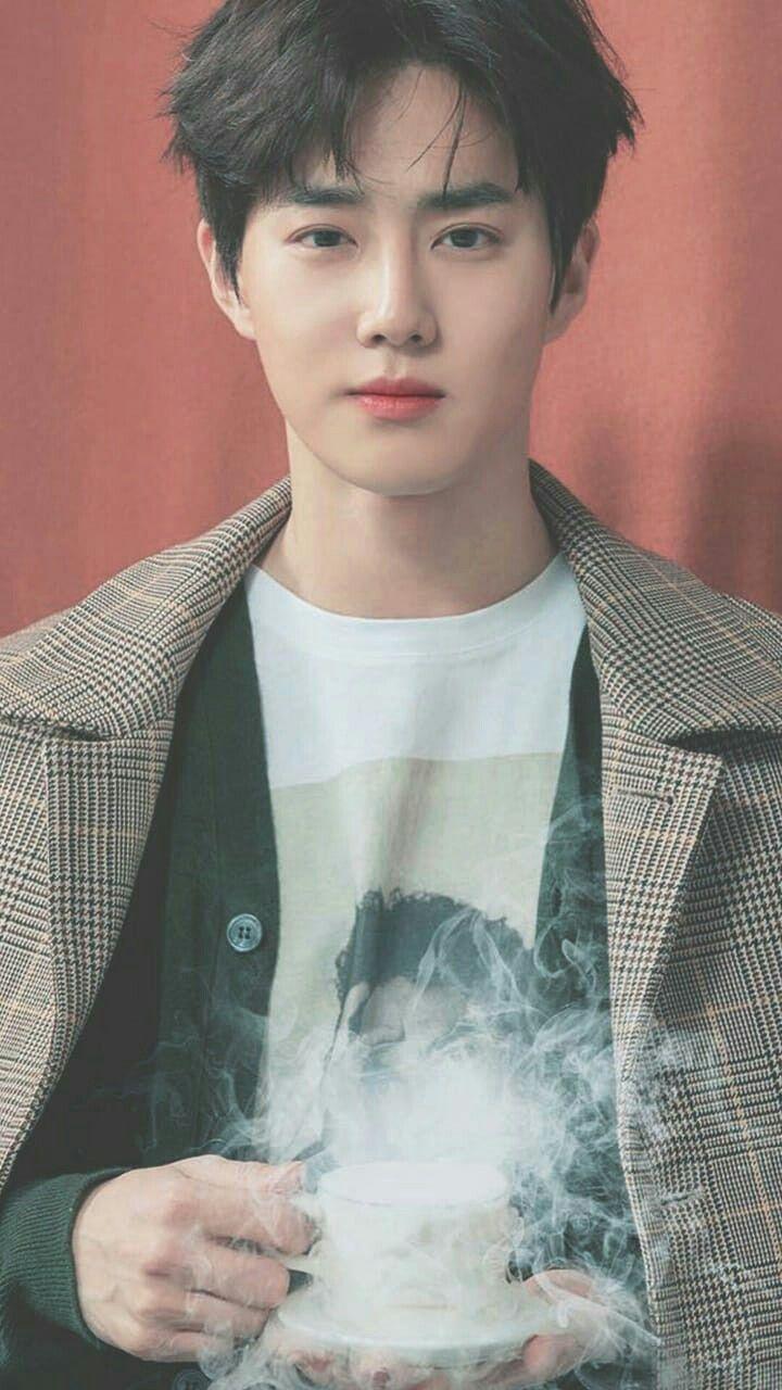 Asia actor, kpop oleh Yese jkjj Selebritas, Gambar, Suho