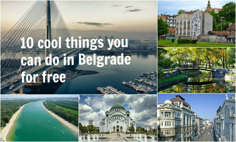 10 cool things you can do in Belgrade for free