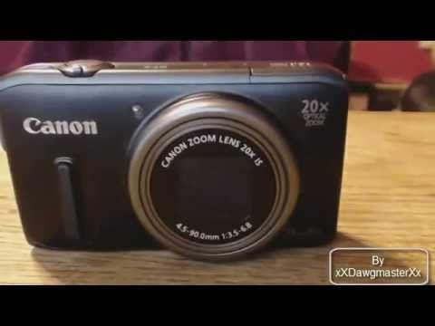 Review 2 Canon Powershot Sx260 Hs Hd 1080p Digital Camera New Digital Camera Youtube Youtube Videos