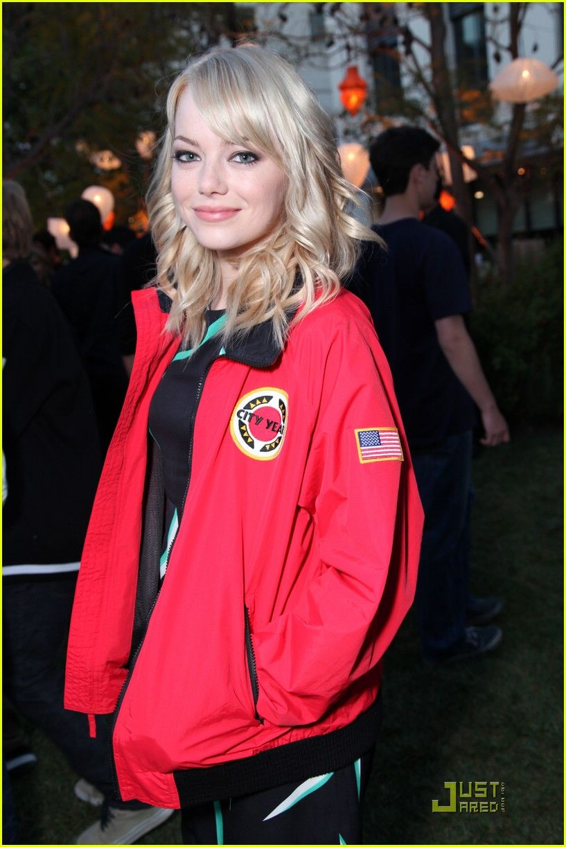 City Year Emma Stone Reppin The Corps D Makebetterhappen