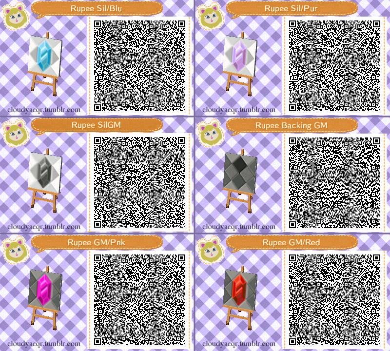 Animal Crossing New Leaf Hhd Qr Code Paths Acnl Path