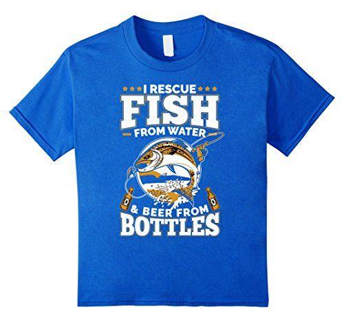 I Rescue Fish From Water T-shirt Funny Men Women Fishing Tee
