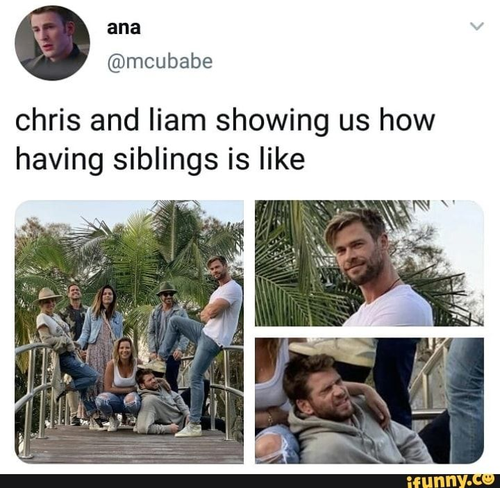 Chris and liam showing us how having siblings is like - iFunny :)