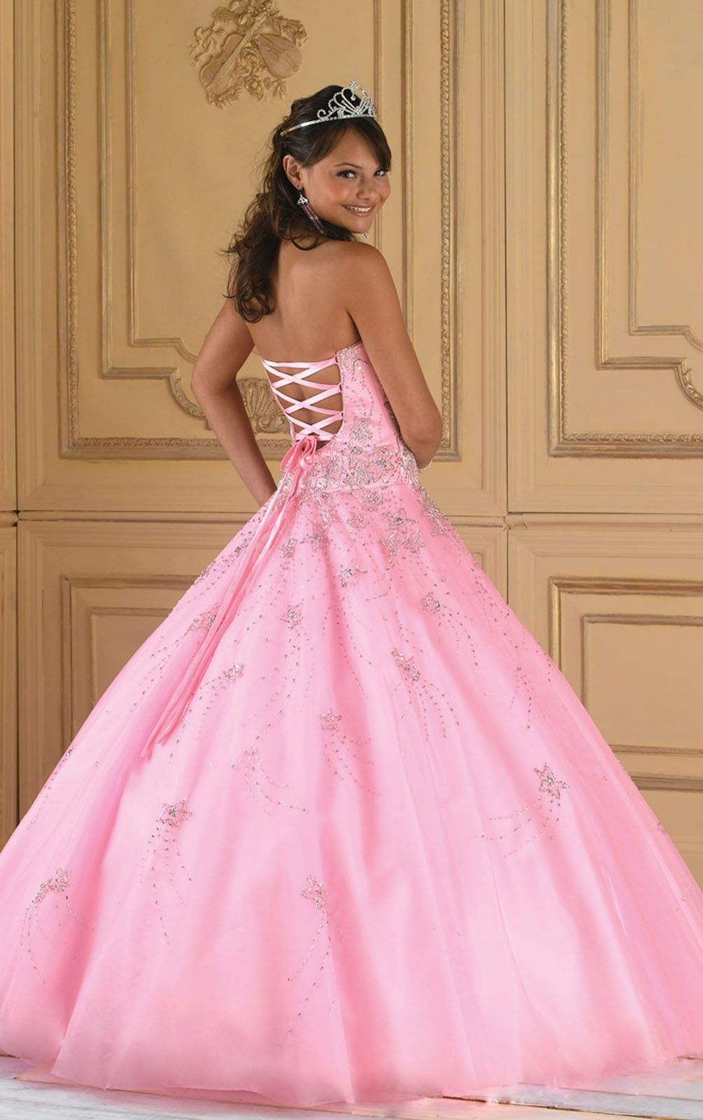 Tumblr | Dresses | Pinterest | Strapless dress, Classic and Pink ...